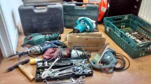Some of the tools donated in 2015